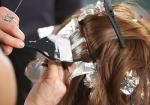Окрашивание волос - цена 68 lari